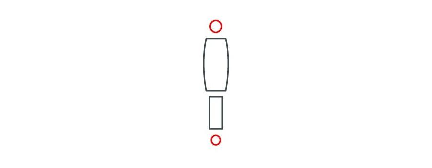 Catégorie SUSPENSION - Avant - Max 4x4, Fournisseur pieces 4x4 : AMORTISSEUR AVD Gaz , AMORTISSEUR AVD Gaz [Equipementier Ori...